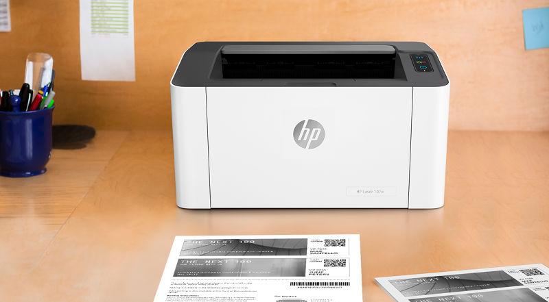 HP Laser 107w opiniones