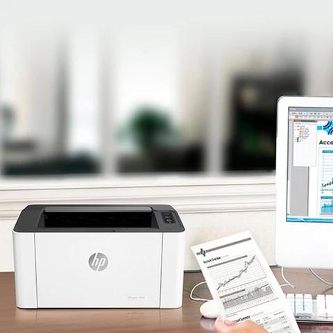 HP Laser 107w wi fi
