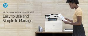 HP impresora multifunción Color Laser Enterprise M480f