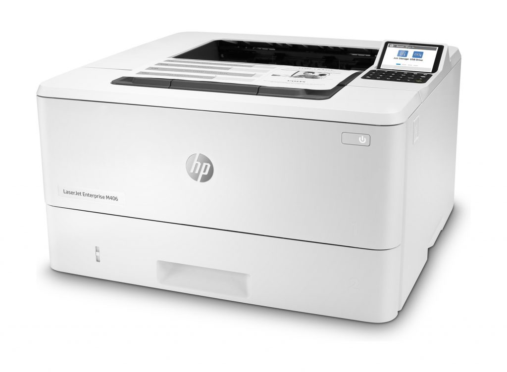Impresora HP LaserJet Enterprise M406dn resolucion 1200 dpi
