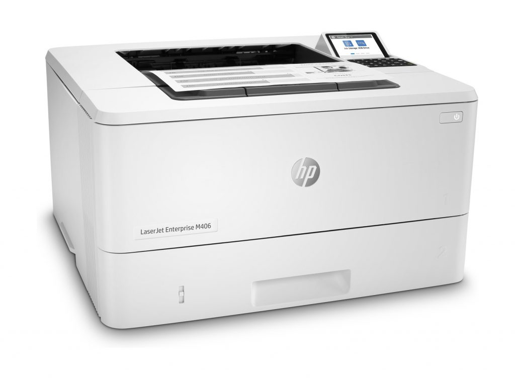 Impresora láser HP LaserJet Enterprise M406dn