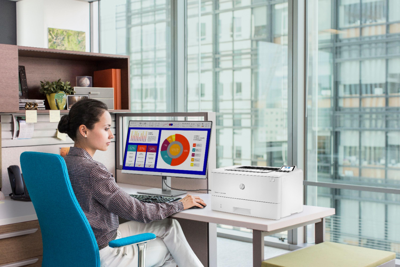 Impresora láser HP LaserJet Enterprise M406dn análisis