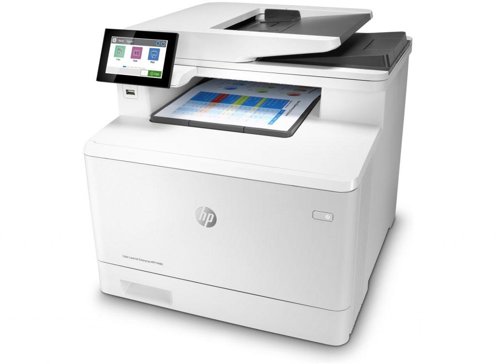 impresora láser HP Color LaserJet Enterprise M480f