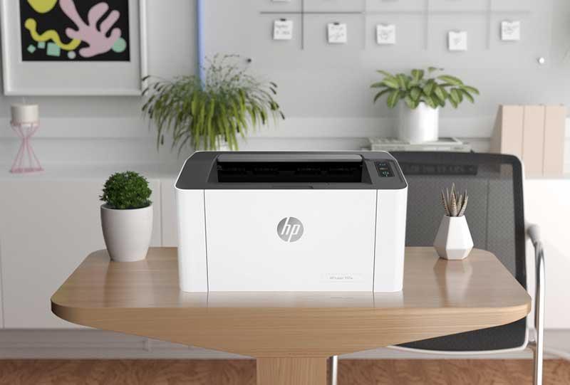 impresora laser monocromoatica HP Laser 107w