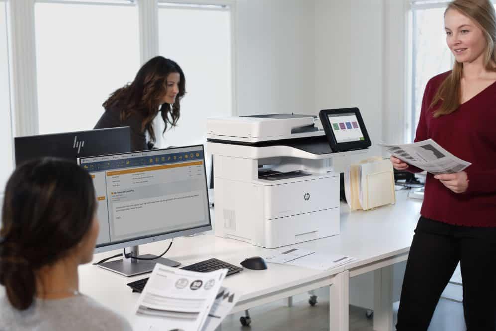 Análisis de la HP LaserJet Enterprise M528dn impresora para oficina