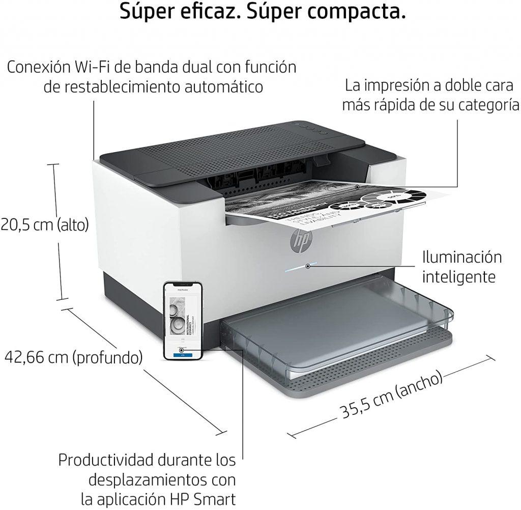 HP Laserjet M209dw características