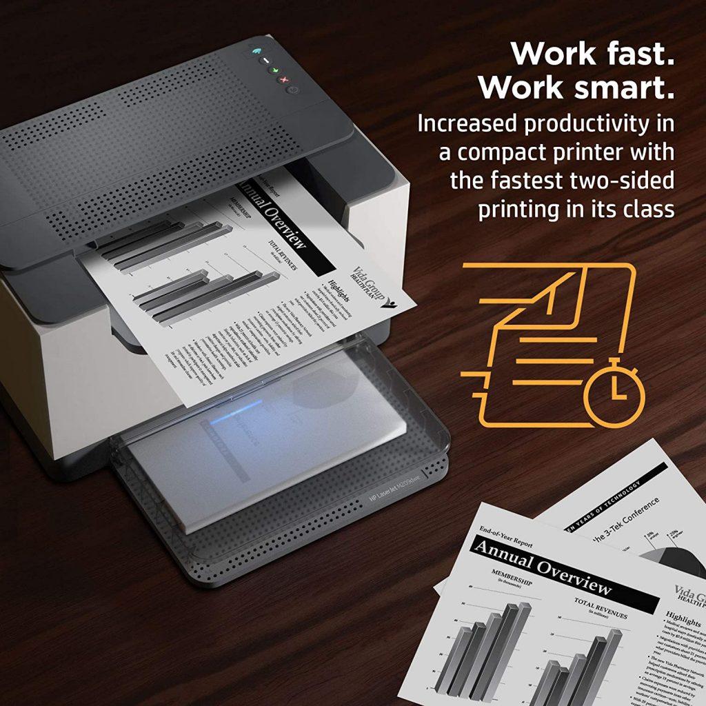 Impresora hp M209dwe rápida y fiable