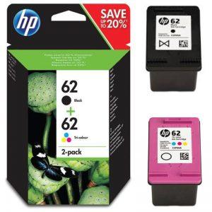 HP OfficeJet 250 Cartuchos de tinta hp 62