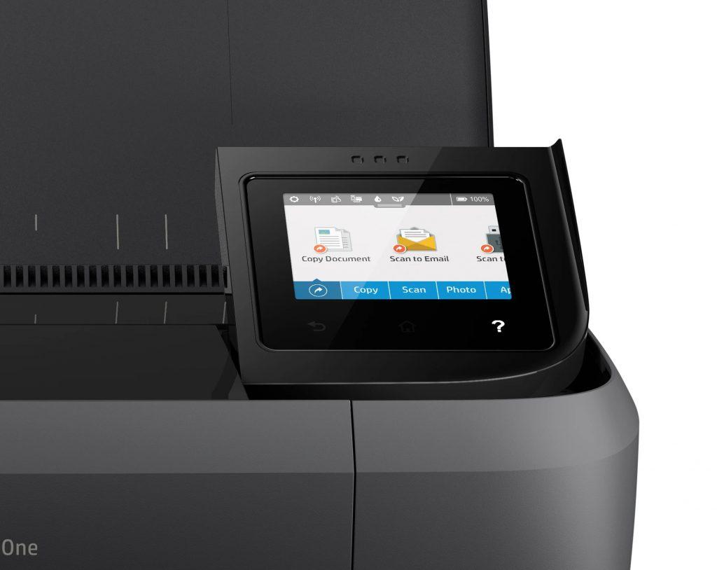HP OfficeJet 250 review pantalla lcd