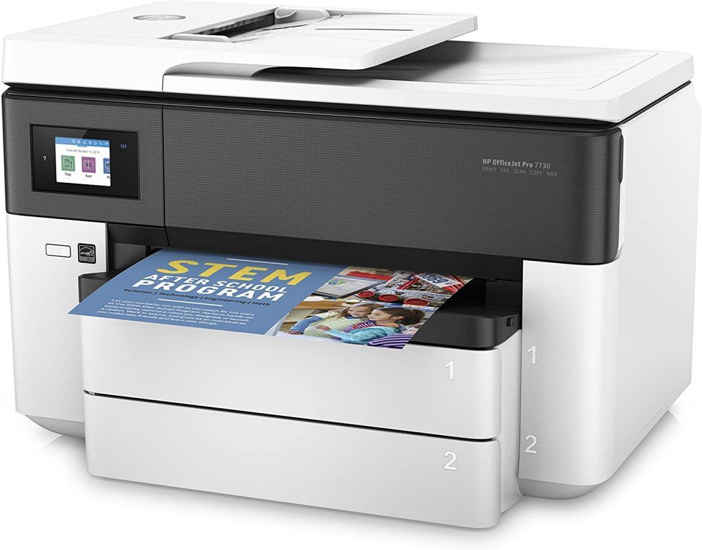 HP OfficeJet Pro 7730 formato ancho