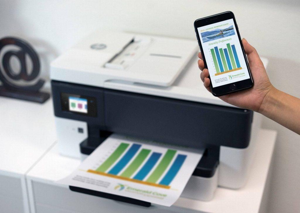 HP OfficeJet Pro 7730 impresora para imprimir desde el movil