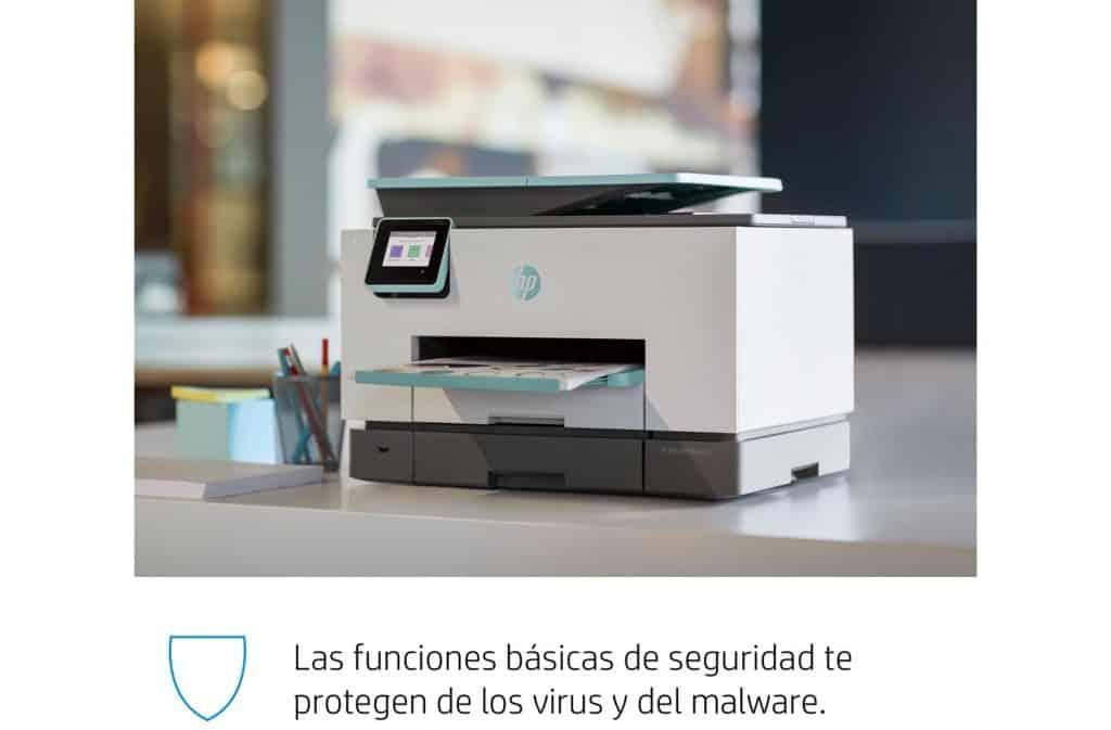 HP OfficeJet Pro 9025 segura