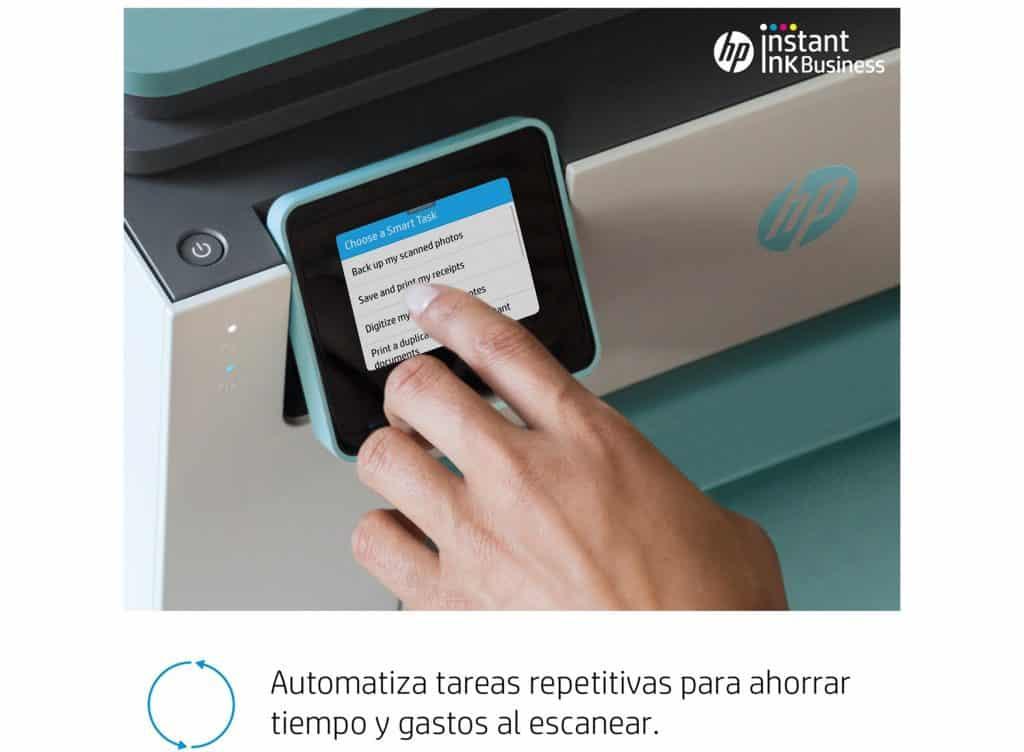 HP OfficeJetPro 9025 automatiza tareas y ahorra tiempo