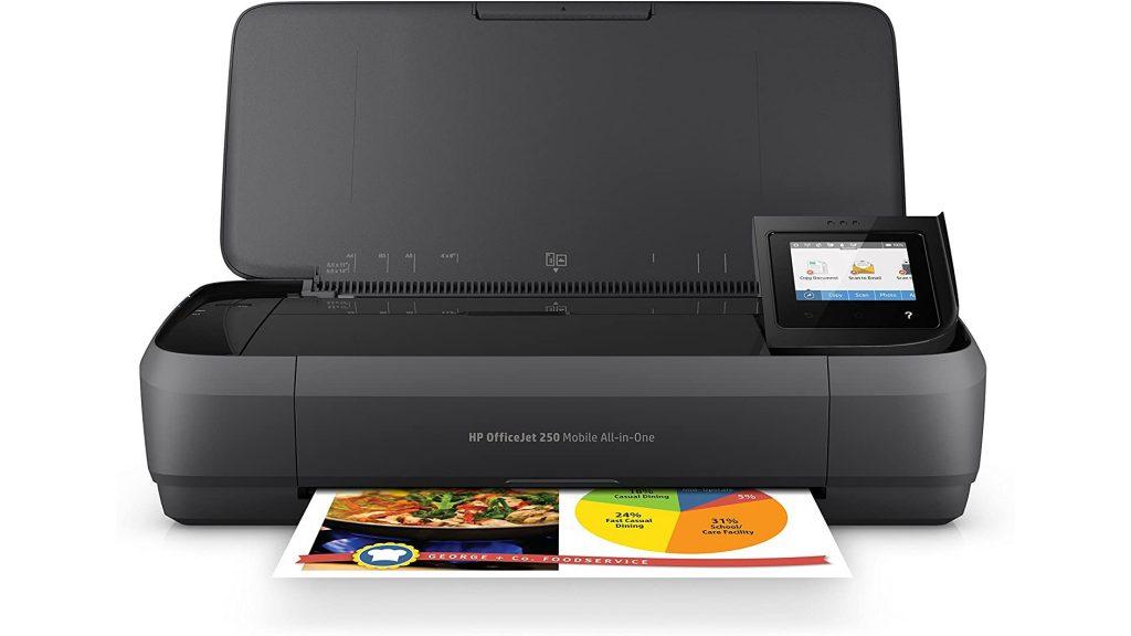 Impresora portátil HP OfficeJet 250