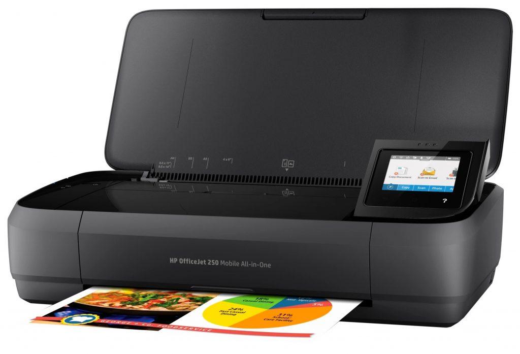 impresora para poder moverte HP OfficeJet 250