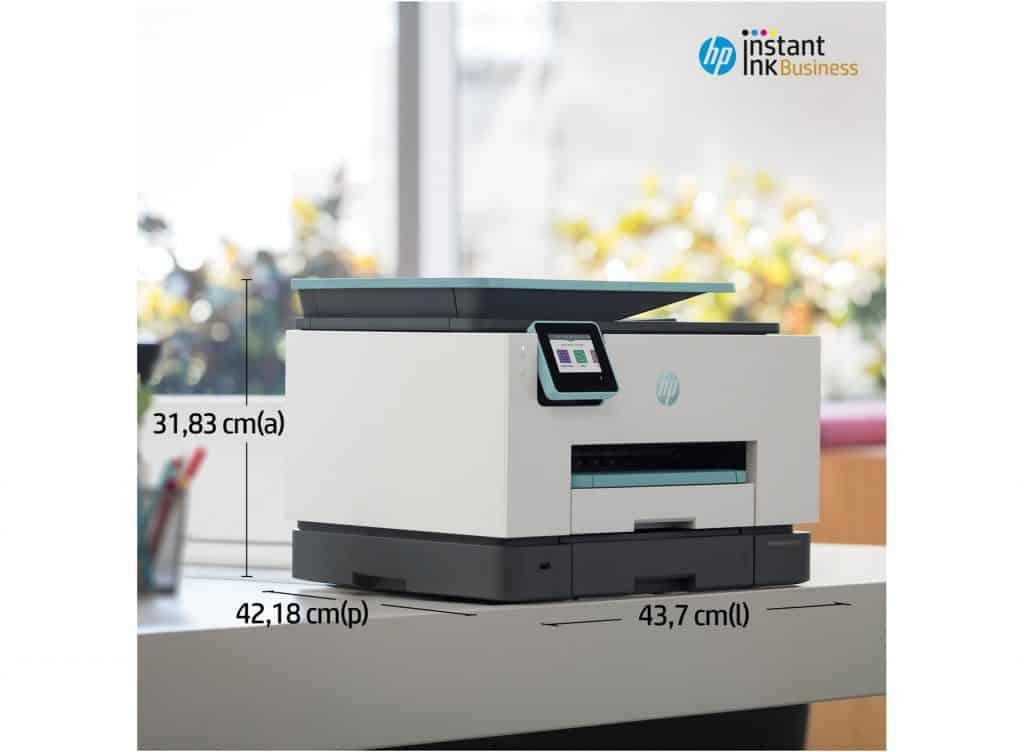 medidas de la Impresora multifunción HP OfficeJetPro 9025