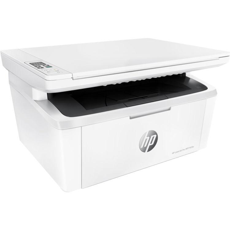 impresoras HP Laserjet MFP M29 con sus cartuchos de toner
