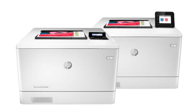 Impresora HP LaserJet Pro a color M454