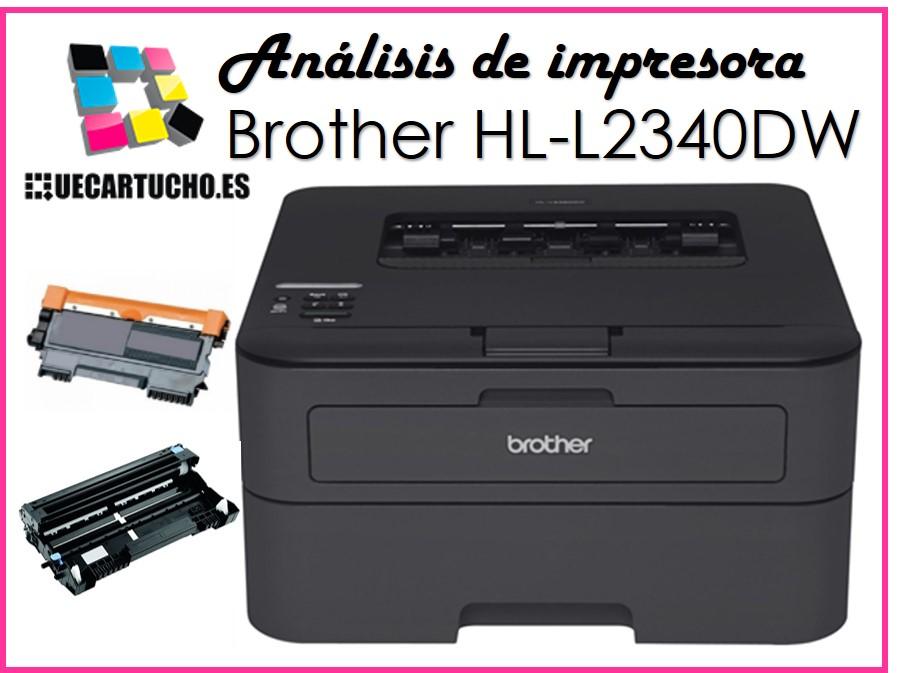 Tóner y tambor para impresora Brother HL L2340DW