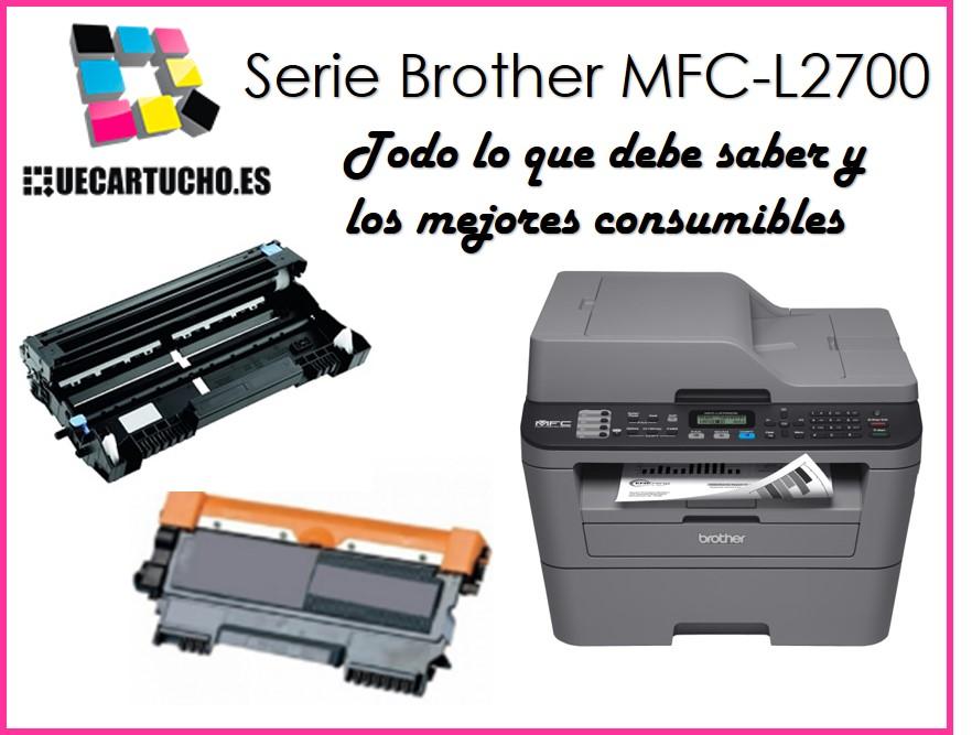 toner, tambor e impresora Brother MFC-L2700
