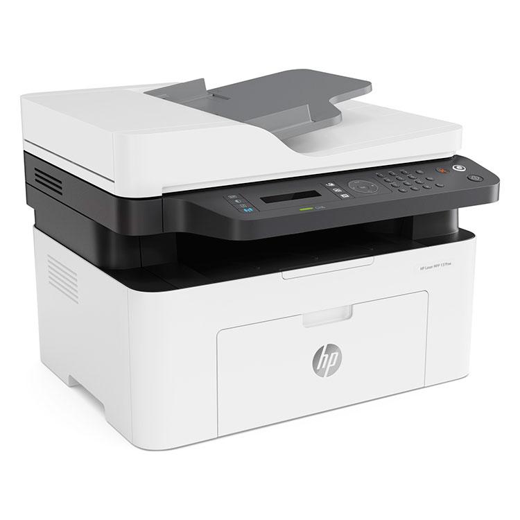 Impresora Monocromo HP Laser Multifuncion 137FNW