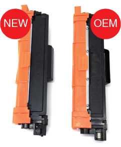 toner compatible tn247 y toner oriignal OEM tn247